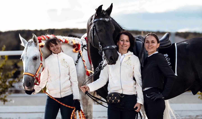 Подбор лошадей за границей с Los Establos
